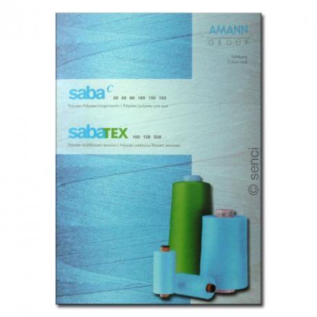 Farbkarte Saba C und SabaTex